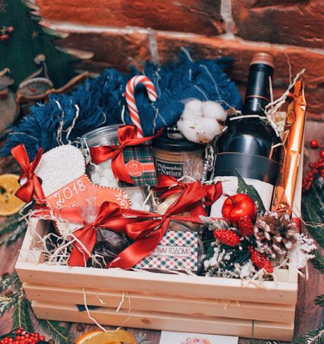 Подарочный набор в ящике «Домашний очаг»