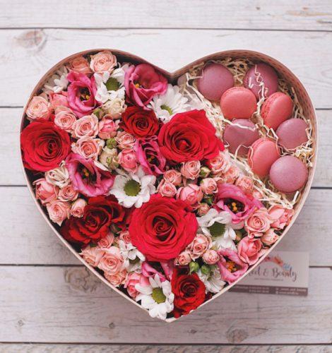 Подарочный набор в виде сердца «Love»