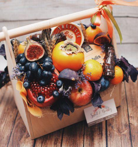 Подарочный ящик «Гранатовый вкус»