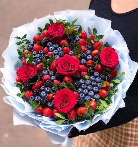 Букет «Вкусный-подарок»