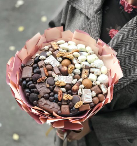 Шоколадный букет «Градиент»