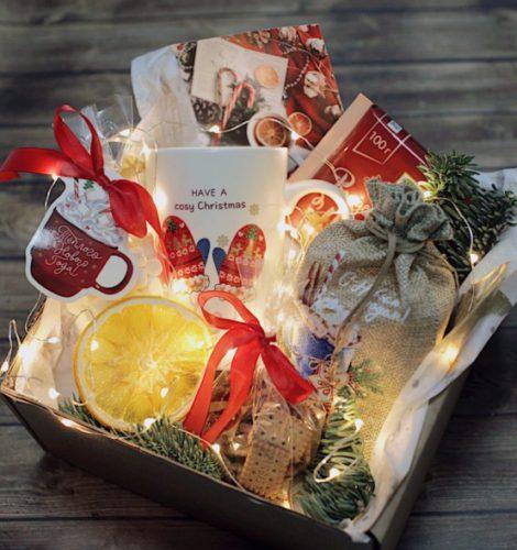 Подарочный набор «Новогодняя посылка»