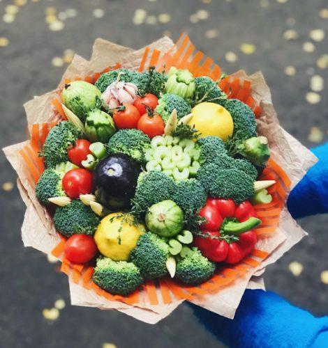 Букет из овощей «Дары природы»
