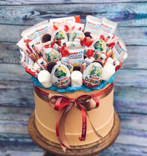 Сладкий набор с киндер шоколадом «Сюрприз»