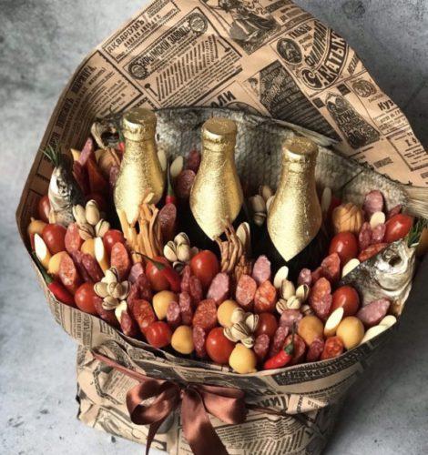 Букет «Рыбный-лещ»