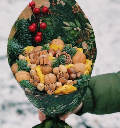 Букет «Зимний орешек»