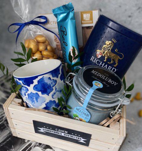 Подарочный набор с чаем «Бриз»