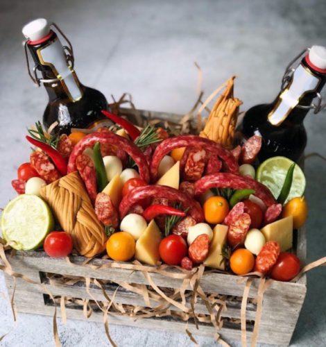 Набор с колбасками «Мужские радости»